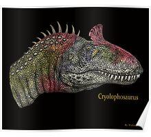 Cryolophosaurus Poster