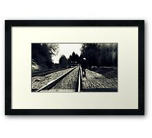 Nowhere to go Framed Print