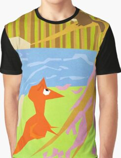 The Fox And Squirrel Graphic T-Shirt