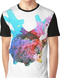 Corsola used Brine Graphic T-Shirt