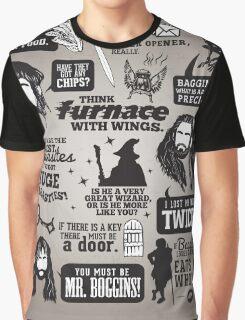 Hobbit Quotes Graphic T-Shirt