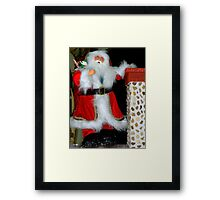 You Better Watch Out... I'm Coming !!! Framed Print