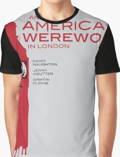 """An American Werewolf In London"" Graphic T-Shirt"