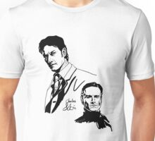 Charles and Erik Unisex T-Shirt