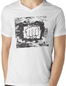 punch Mens V-Neck T-Shirt