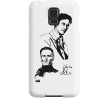 Charles and Erik Samsung Galaxy Case/Skin