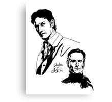 Charles and Erik Canvas Print