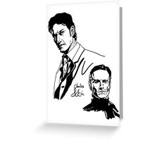 Charles and Erik Greeting Card