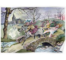 Tam O'Shanter by Robert Burns Poster