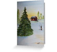 Christmas Tree Greeting Card
