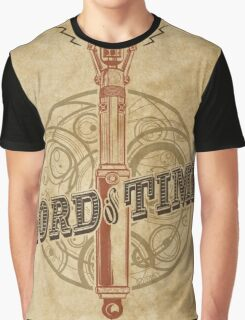 Steampunk Sonic Screwdriver Graphic T-Shirt