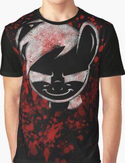 Rainbow Dash Grim Dark  Graphic T-Shirt