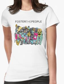 Foster The People Colors Womens Fitted T-Shirt