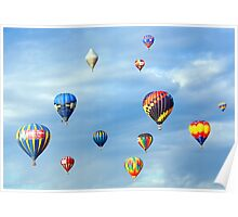 Reno Balloon Races Poster