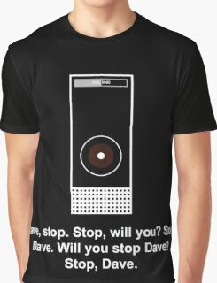 Hal 9000 Minimalist DAVE?! Graphic T-Shirt