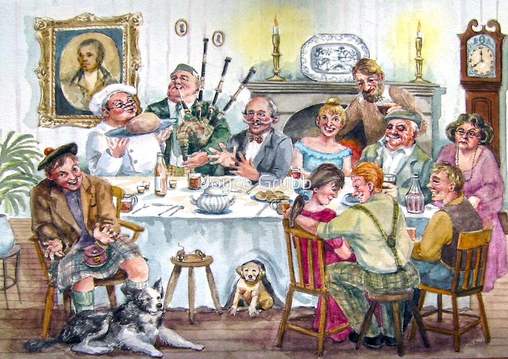 A Toast to the Haggis by Joyce Grubb