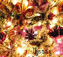 Very Special Merry Christmas - greeting card 2 (limited edition) by Scott Mitchell