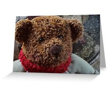 A Christmas Bear Greeting Card