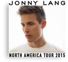 JONNY LANG WHITE TEE TOUR 2015 Canvas Print