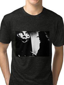 When Allan Moore met Tim Burton Tri-blend T-Shirt