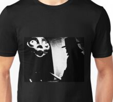 When Allan Moore met Tim Burton Unisex T-Shirt