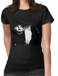 When Allan Moore met Tim Burton Womens Fitted T-Shirt