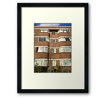 London Deco: Oman Court 1 Framed Print