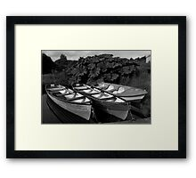 Cloone Lakes , CO. Kerry, Ireland Framed Print