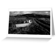 Old boat, Co. Cork, Ireland Greeting Card
