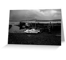 Fishing boats, Co. Cork, Ireland Greeting Card