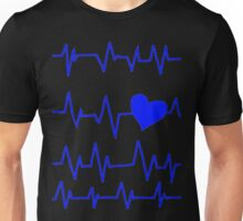 Blueberry's Heart Monitor Shirt  Unisex T-Shirt