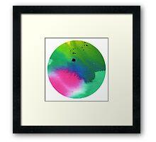 Tranquility - Circles Framed Print