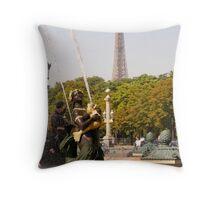 Paris in Summer 1 Throw Pillow