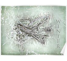 In the frozen grip of winter Poster