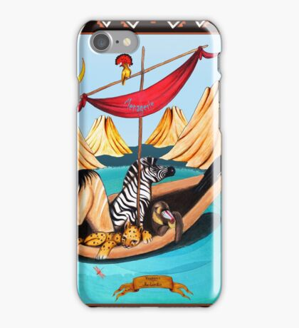 Voyagers by Ro London - Menagerie Collection iPhone Case/Skin