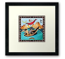 Voyagers by Ro London - Menagerie Collection Framed Print