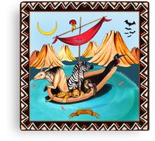 Voyagers by Ro London - Menagerie Collection Canvas Print