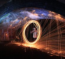 Sparks in the arch by yampy