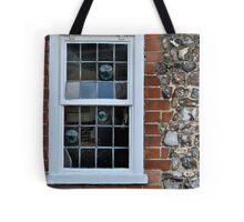 Window and flint wall Tote Bag