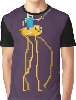 Pixel Time Graphic T-Shirt