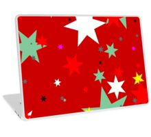Stars in Red Sky Laptop Skin