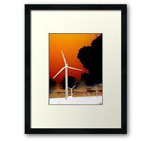 Harnessing Nature Framed Print