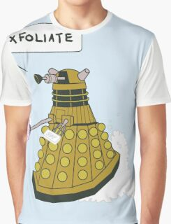 EXFOLIATE Dalek Graphic T-Shirt