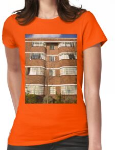 London Deco: Oman Court 1 Womens Fitted T-Shirt
