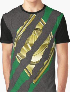 Secret Identity - Green Ranger Graphic T-Shirt