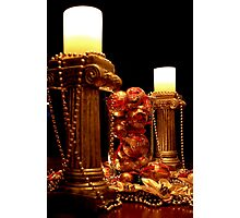 Festive Candles Photographic Print