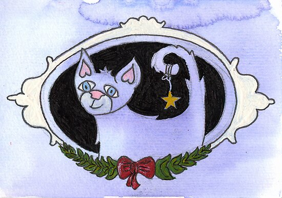 Christmaskitty by Sanne Thijs