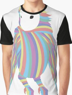 Rainbow Owl Graphic T-Shirt
