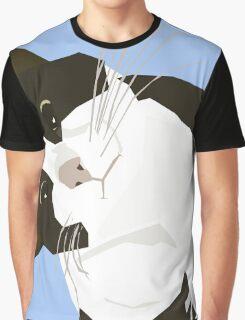 Hello Cat Graphic T-Shirt