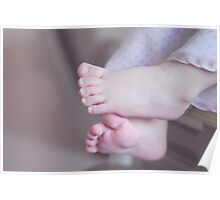 Emily's toes Poster